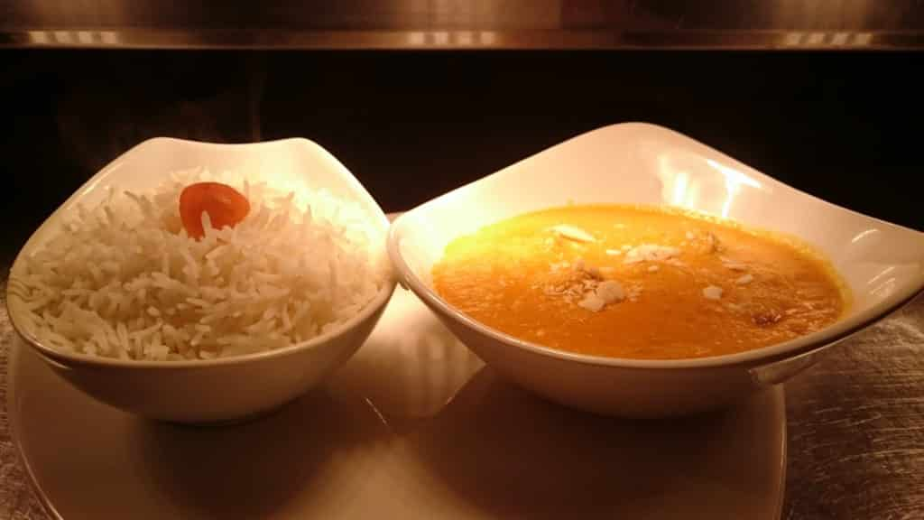 A la Carte Korma with rice